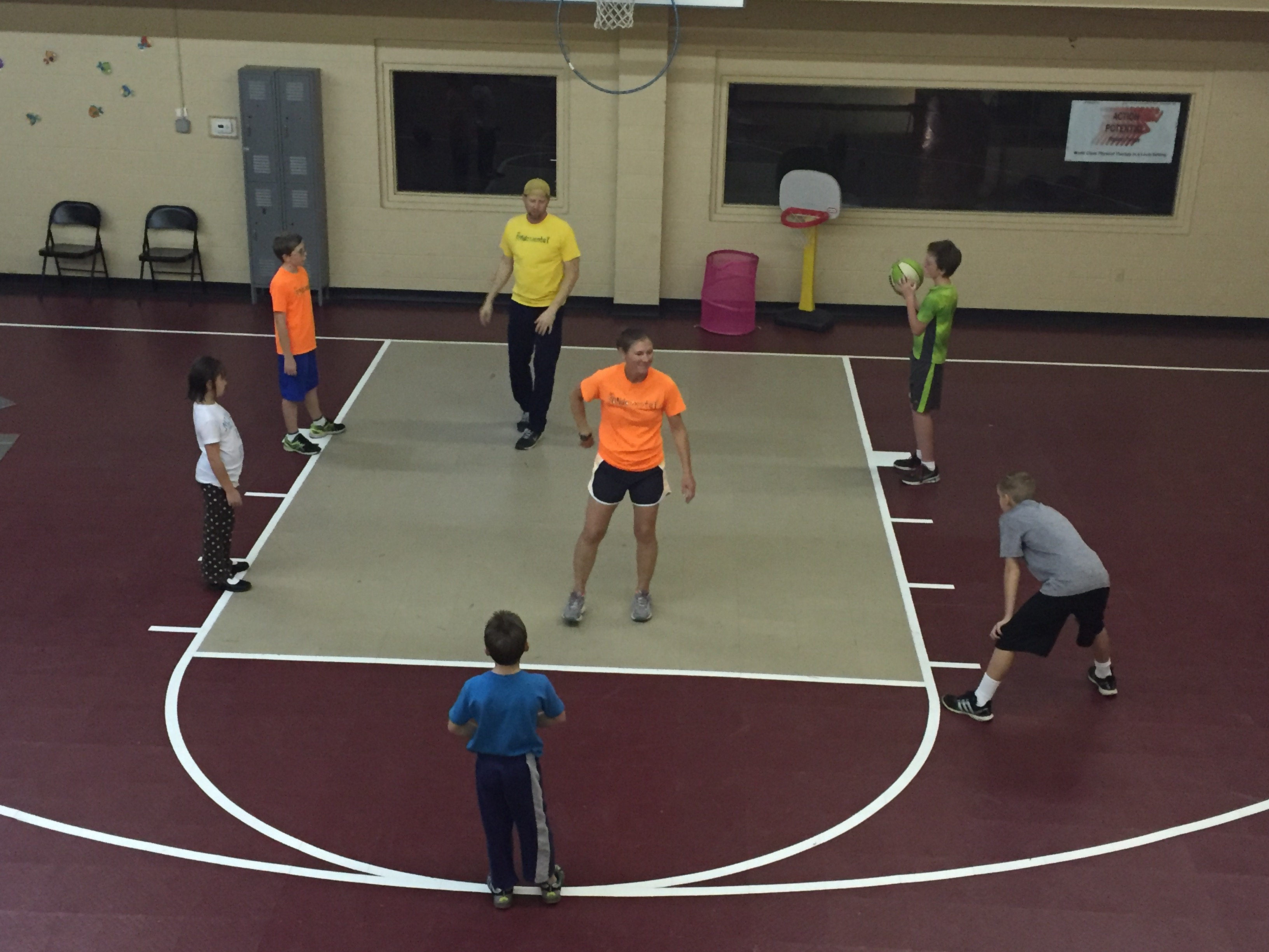 Basketball passing & shooting skills