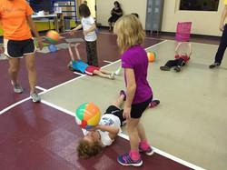 Volleyball setting skills