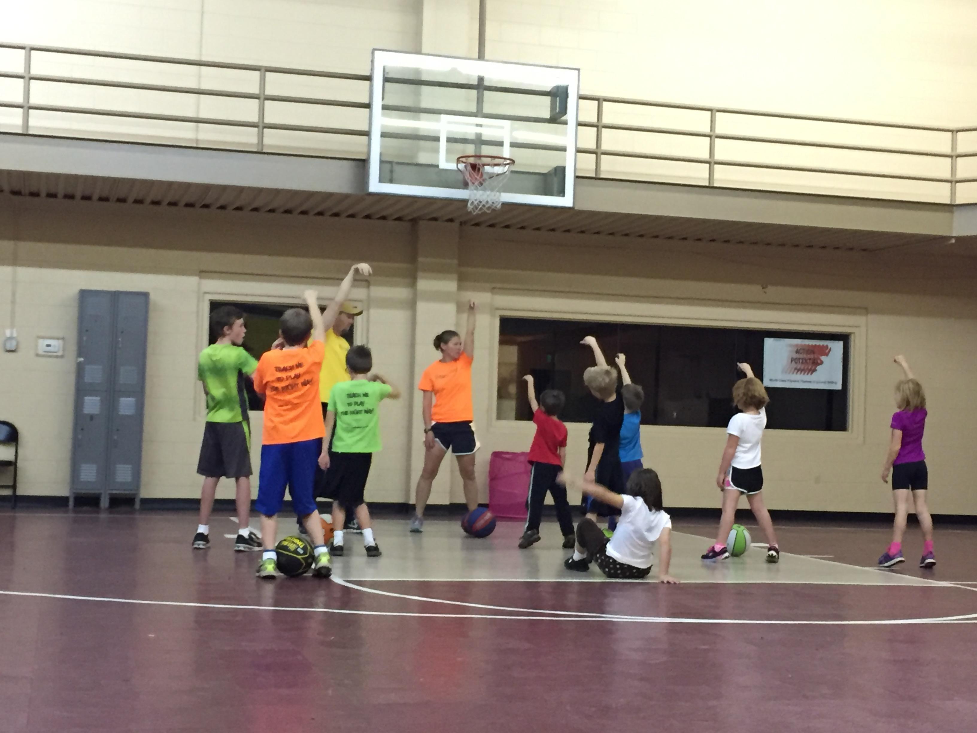 Basketball form and fundamentals