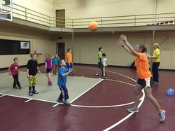 Volleyball bump, set, spike drill
