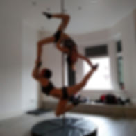 Pole dancing, pole fitness, pole doubles,