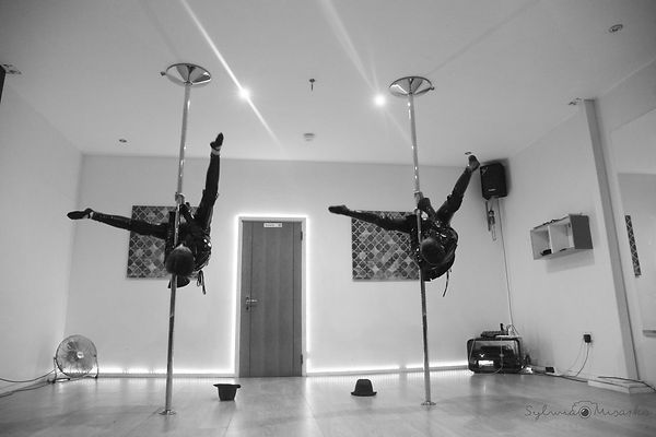 Pole dancing, pole fitness, pole doubles, pole twins, The Pole Vault Studio
