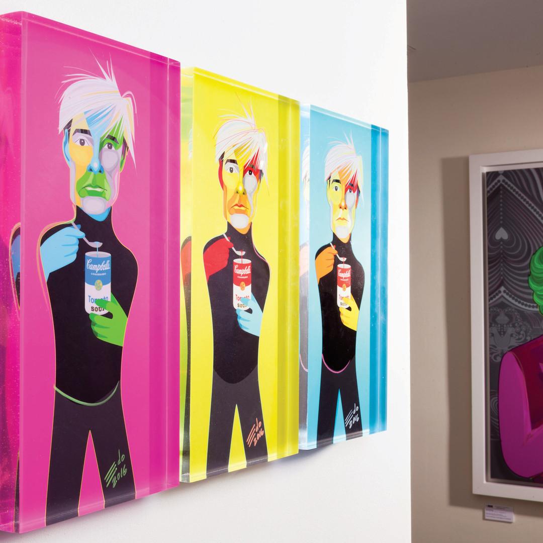 3 en 1 Warhol