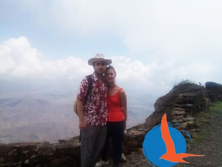 Climbing the #serramalagueta national park #tour in Santiago. praiaturcaboverde.com