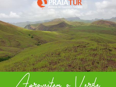 Aproveitem o Verde  www.praiatur.cv#travel #destination #caboverdetem #nhaterra #caboverde