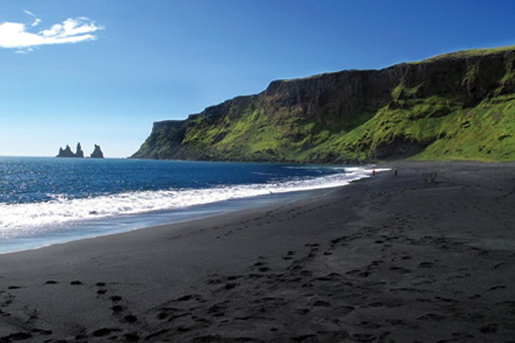 Praia negra