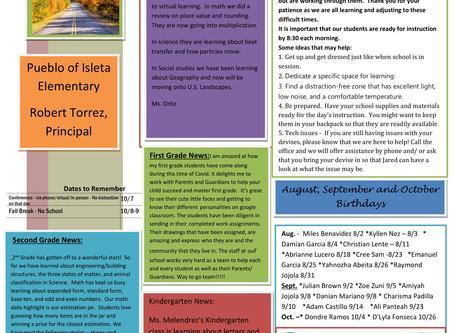 IES October Newsletter
