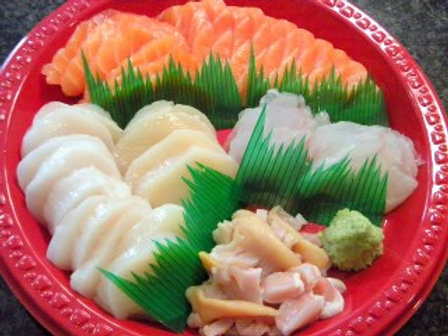 4種盛 4-Kind Combo Sashimi (Full Plate)