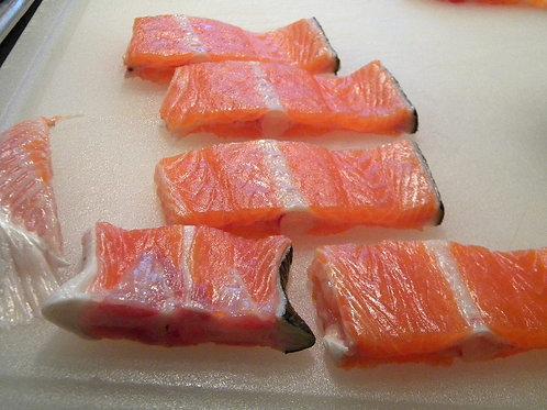鮭アラ Seasoned Salmon Bones (550-600g)