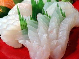 Black Grouper Sashimi