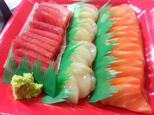 3種盛 3-Kind Combo Sashimi (Full Plate)