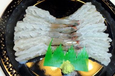 エビ刺身 Shrimp Sashimi (8-12 pc)