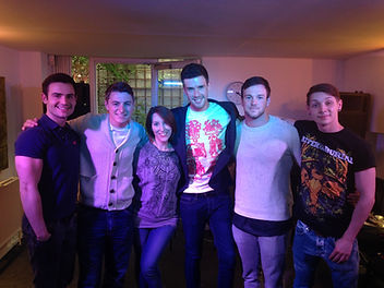 Lucy Phillips and BGT winner Collabro