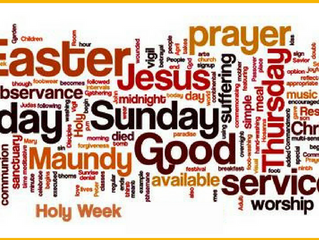 Why Share in Our Holy Week Services