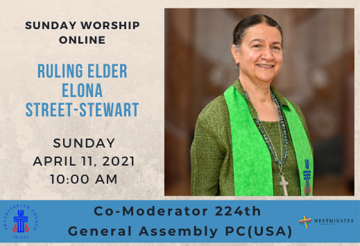 Special Guest Preacher Elona Street-Stew