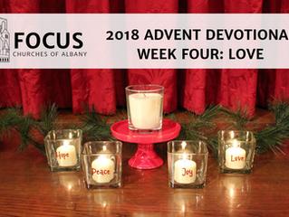 FOCUS Advent 2018 Devotional: Week Four: Love