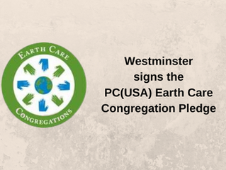WPC Commits to Earth Care Pledge