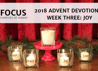 FOCUS Advent 2018 Devotional: Week Three - Joy