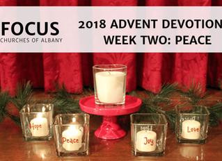 FOCUS Advent 2018 Devotional: Week Two - Peace