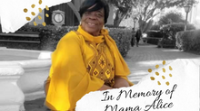 In Memory of Mama Alice