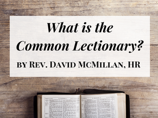 What is the Common Lectionary?