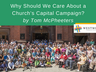 Why Should We Care About a Church's Capital Campaign?