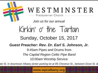 Kirkin' 2017:  Celebrating the Scottish Reformation