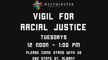Vigil for Racial Justice Resumes