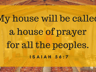 Westminster 2018 Stewardship Campaign: Building a House of Prayer for All Peoples
