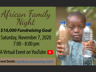 Westminster's African Family Night