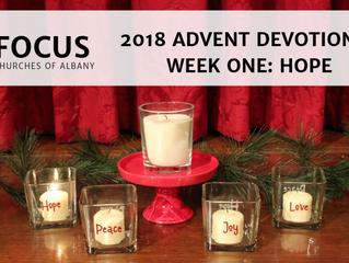 FOCUS Advent 2018 Devotional: Week One - Hope