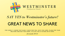 2021 Stewardship Campaign -  Great News to Share