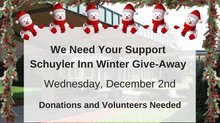 Schuyler Inn Winter Give-Away