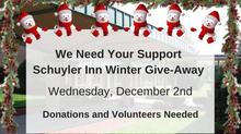Schuyler Inn Winter Give-Away
