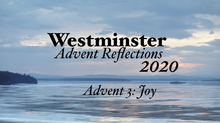 2020 Advent Devotional: Week Three - Joy