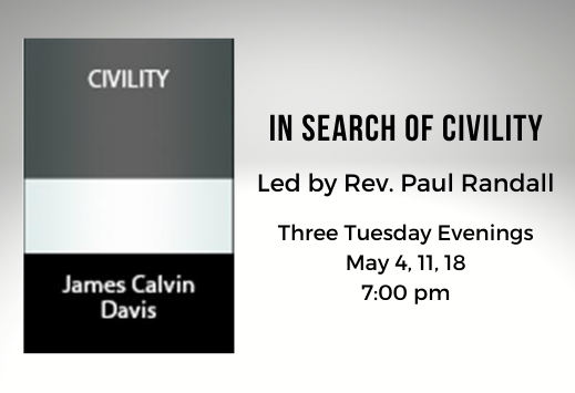 IN SEARCH OF CIVILITY discussion 519x355