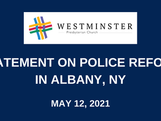 Statement on Police Reform in Albany, NY