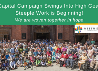 Capital Campaign Swings Into High Gear!