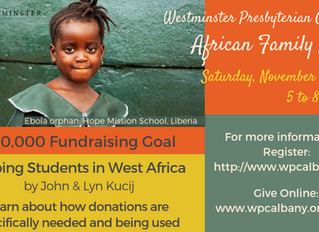 Helping Students in West Africa