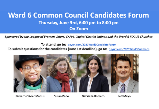 Ward 6 Common Council Candidates 519x355