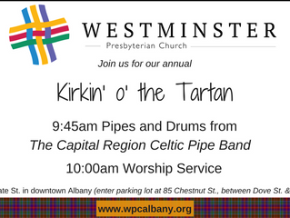 What's a Kirkin'?  Come find out!