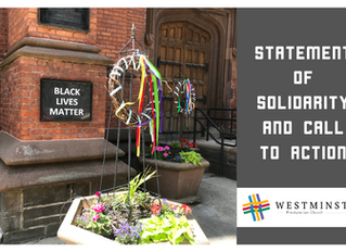 Statement of Solidarity and Call to Action