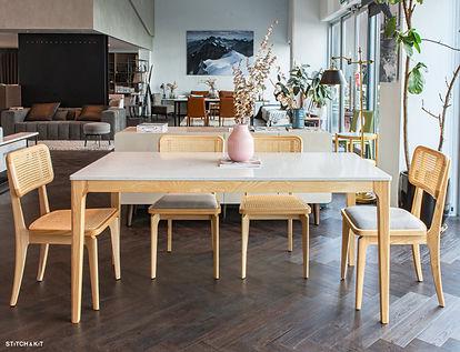 set wooden legs rattan chairs.jpg
