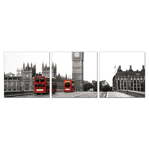 Red Buses Set