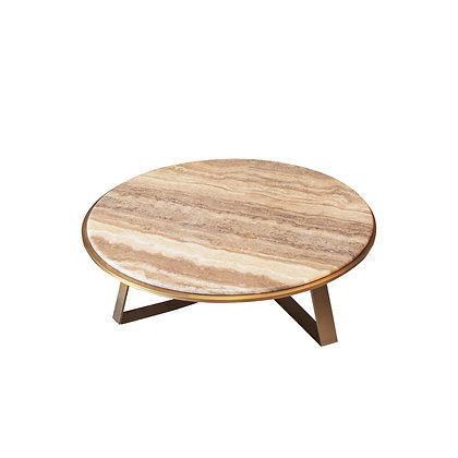 Round Marble Coffee Table (Display Set)