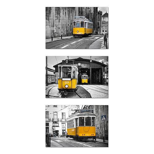 Yellow Trains Set