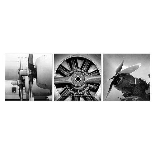 Plane Engines Set