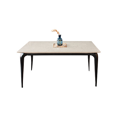 Quartz Classic Serie Dining Table+ 4 Dining Chairs