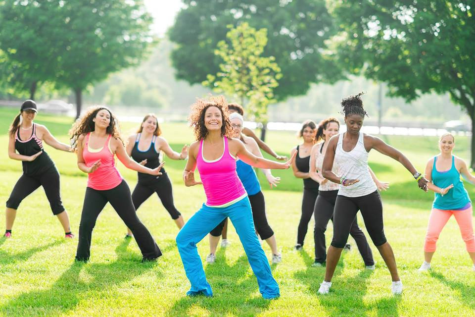 Fitness in the Park with Maria
