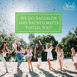 Shake Cocktails Victoria BC Bachelorette